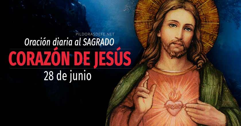 oracion diaria al sagrado corazon de jesus dia  de junio