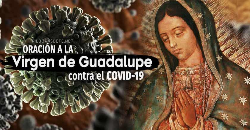 oracion virgen de guadalupe contra el covid  coronavirus