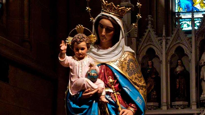 oracion virgen maria auxiliadora en las dificultades auxulio de los cristianos