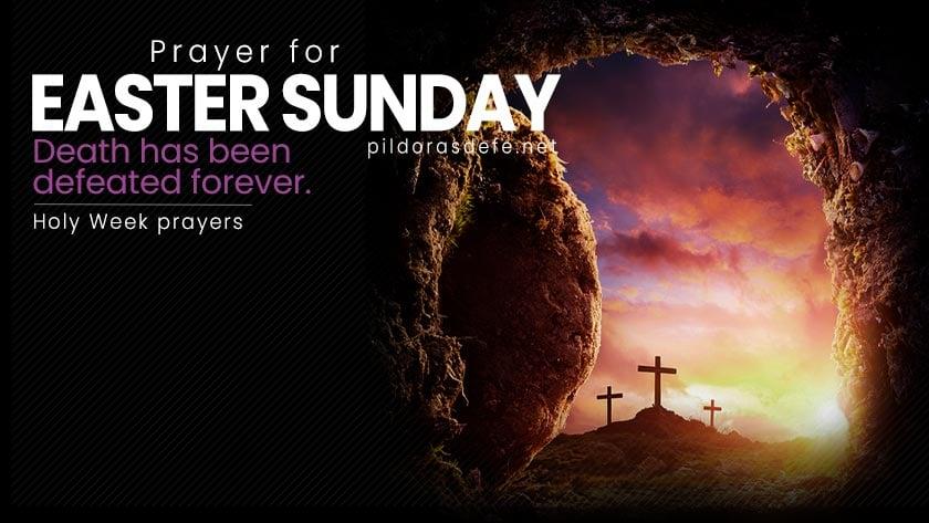 prayer for easter sunday resurrection week prayers