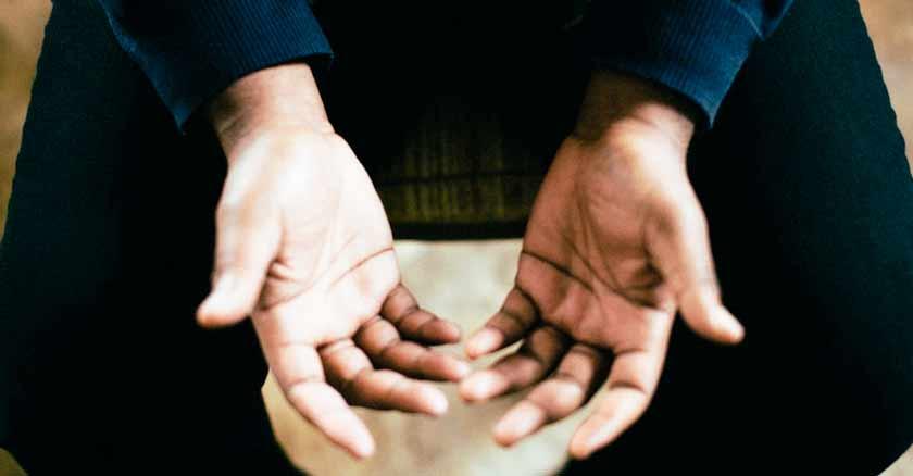 prayer for forgiveness grudges bitterness hands