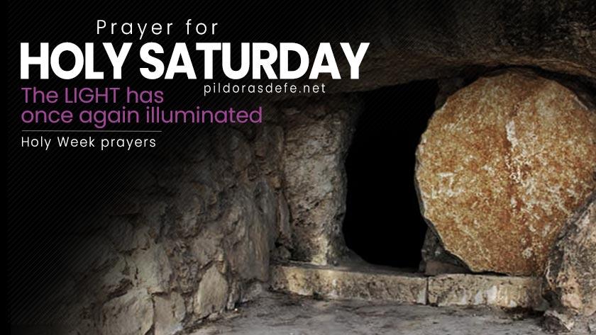 prayer for holy saturday easter vigil week prayers