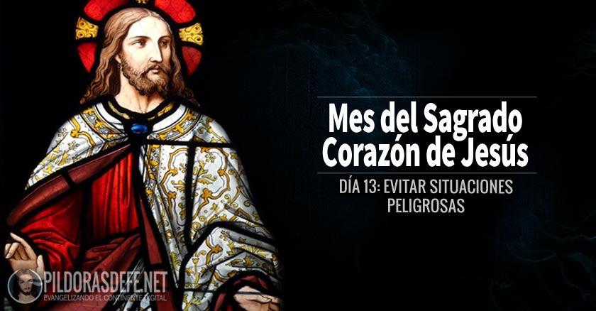 sagrado corazon de jesus dia  evitar situaciones peligrosas