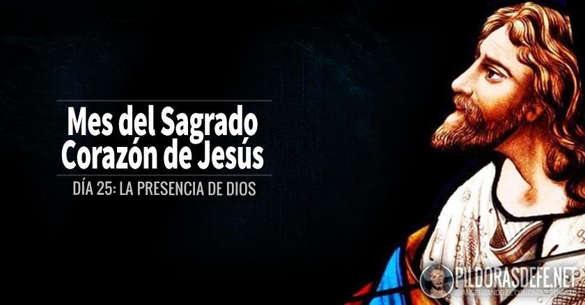 sagrado corazon de jesus dia  la presencia de dios
