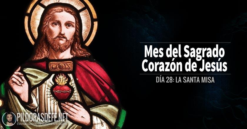 sagrado corazon de jesus dia  la santa misa