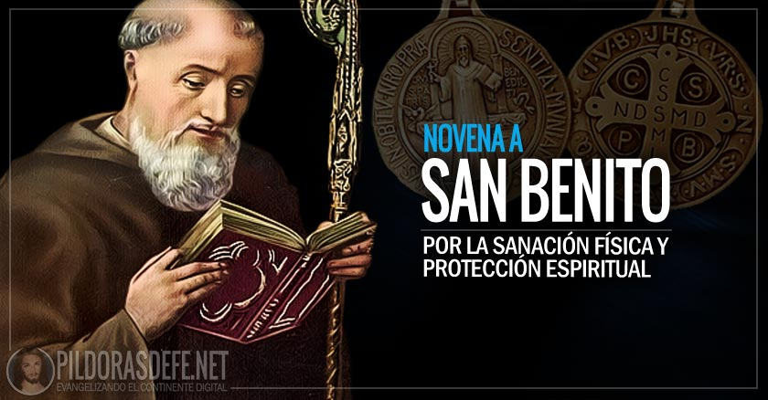 san benito abad novena medalla proteccion mal espiritu dia