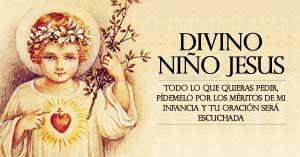 fiesta divino nino jesus oracion de confianza coronilla