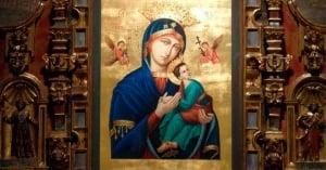 letanias nuestra senora del perpetuo socorro madre virgen