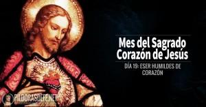 sagrado corazon de jesus dia  ser humildes de corazon
