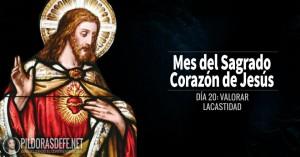 sagrado corazon de jesus dia  valorar la castidad