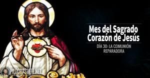 sagrado corazon de jesus dia  la comunion reparadora