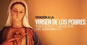 virgen de los pobres senora de banneux oracion de sanacion para alivio del sufrimiento
