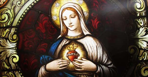 virgen santa maria poema oracion corazon puro