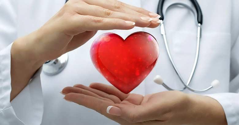 corazon entre manos doctor cuidar