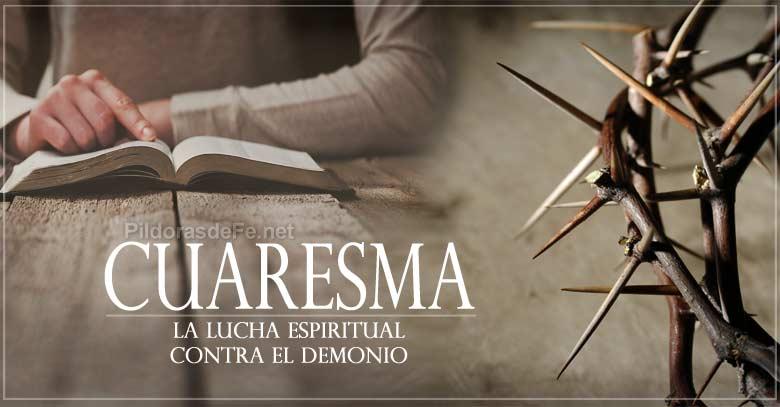 cuaresma estudio de biblia corona de espinas batalla espiritual