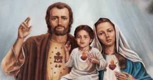 sagrada familia aparicion en fatima san jose