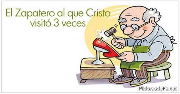 El zapatero al que cristo visit tres veces - Zapatero para ninos ...