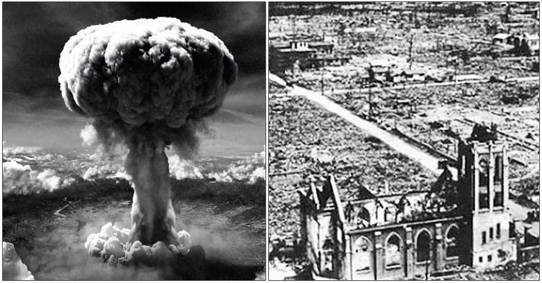 bomba atomica hiroshima sacerdotes sobreviven iglesia intacta